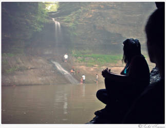 Watching Waterfalls by x-Goddess-x