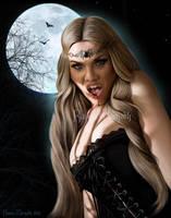 Blue Moon by RavenMorgoth