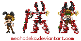 SRW style Haruhi Robo by MechaDeka