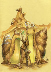 snail gothic by Kardalak