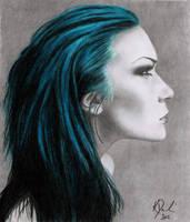 Green Hair by FaeryWing