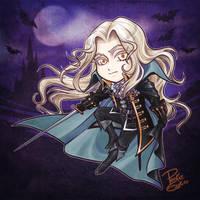Alucard Chibi by PookieEsukiro