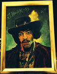 Jimi Hendrix - Golden by MichaelVance-ART
