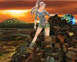 Mars Explorer by SunsetRising-Art