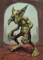 Goblin design by Jumpei
