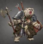 Werebear by Jumpei