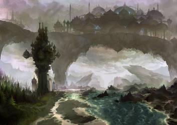 Neoexodus landscapes VI by Jumpei
