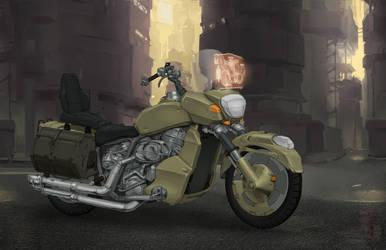 Shadowrun (Riggers) - Harley Nightmare by Jumpei