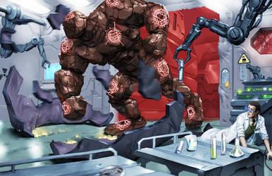 SR - Qabbalistic Golem by Jumpei