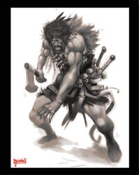 Berserker warrior by Jumpei