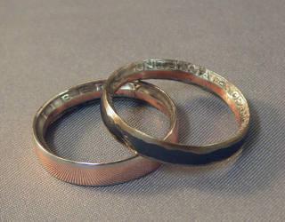 Coin Rings by BorosilicateArachnid