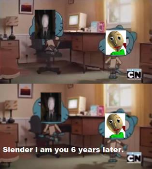 Slender VS Baldi by KirbyGuy87