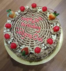 Happy birthday cake by ClockTale