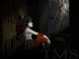Portal2: Alone by TheMistressSpawn