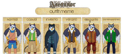AS: Outfit Meme Codrighan by Crystalchan2D