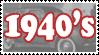 1940's Stamp by Buraddo-Purasu