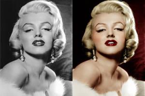 Marilyn Monroe 005 by bluishcanti