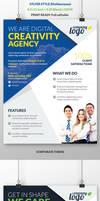 Multipurpose Corporate Flyer by webduckdesign