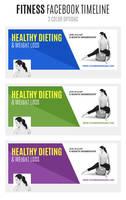 Fitness Facebook Timeline by webduckdesign
