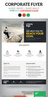 Corporate Flyer Template Vol 2 by webduckdesign