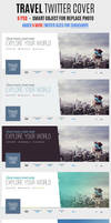 Travel Twitter Covers by webduckdesign