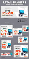 Retail Ad Banners by webduckdesign