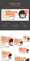 Furniture Sale Banners by webduckdesign