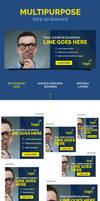 Multipurpose Web Ad Banner by webduckdesign