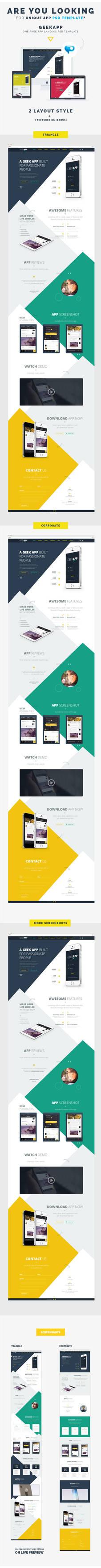Geekapp Psd Cover by webduckdesign