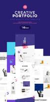 Me Creative Portfolio and  Resume/ CV PSD Template by webduckdesign