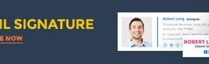 Emailsignature Adbanner by webduckdesign