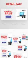 Retail Sale Web Ad Banner by webduckdesign