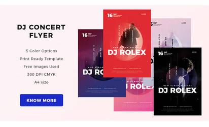 Djconcertflyer by webduckdesign