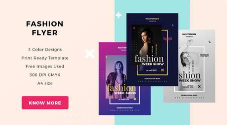 Fashionflyer Dp by webduckdesign