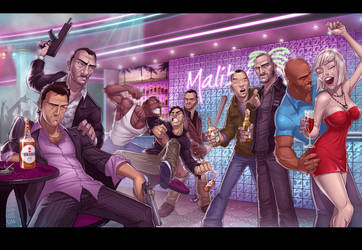 GTA: LEGENDS III by PatrickBrown