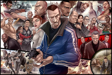 Grand Theft Auto IV TRIBUTE by PatrickBrown