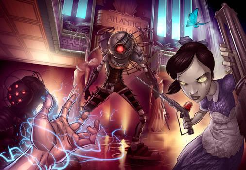 BioShock 2 by PatrickBrown