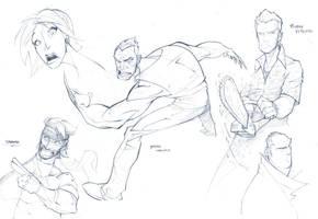 Random Sketches 10-08-2010 by PatrickBrown