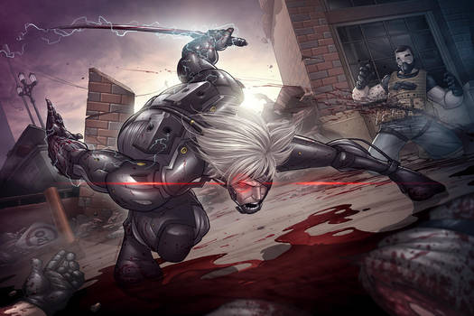 Raiden Rising by PatrickBrown