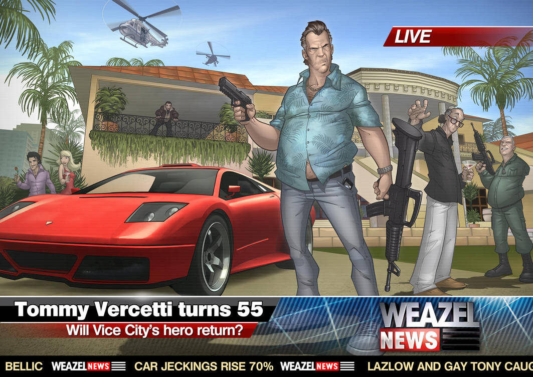GTA: Vice City 2011 by PatrickBrown