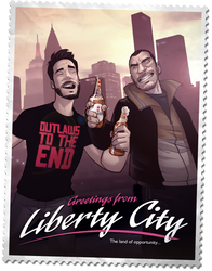 Greetings from Liberty City by PatrickBrown