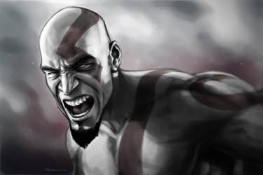 Kratos - God of War by PatrickBrown