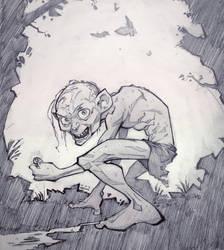 Smeagol by PatrickBrown