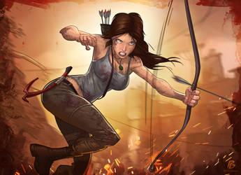 Tomb Raider Reborn Contest by PatrickBrown