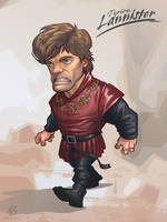Tyrion Lannister - Game of Thrones by PatrickBrown
