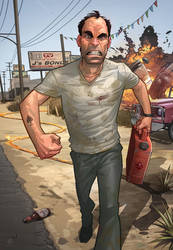 GTA V - Trevor Philips by PatrickBrown