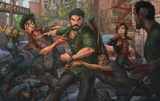 The Last of Us (Tutorial) by PatrickBrown
