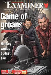Game of Groans - Budget cover design by PatrickBrown