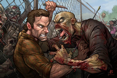 The Walking Dead by PatrickBrown