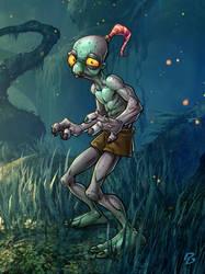 Oddworld by PatrickBrown